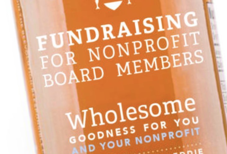 Wayne Olson's New Book, Fundraising for Nonprofit Board Members